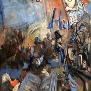 1802-1885 (Victor Hugo) 80,5x100 h/isorel