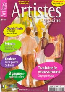 ARTISTES Magazine 119. Le fondu enchaîné